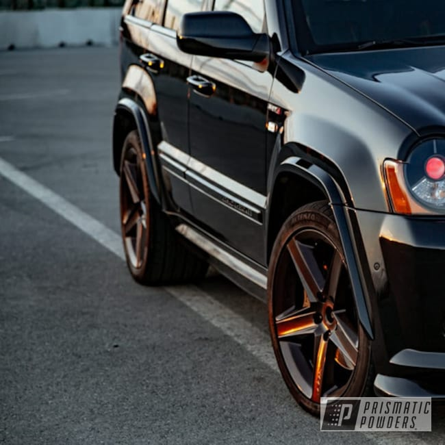 "Powder Coating: Automotive,4x4,20"" Wheels,SRT8,Jeep,Jeep Grand Cherokee Wheels,Misty Rootbeer PMB-1081"