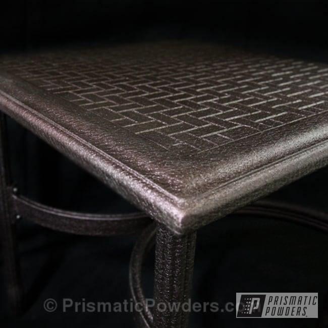 Powder Coating: SPLATTER MAUVE PWB-2885,Furniture
