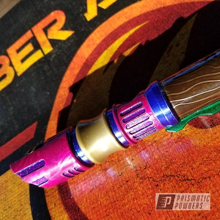 Powder Coating: Cran-Raspberry PPB-1745,Aluminum,Aurora Sparkle PPB-5704,SABLE BROWN UPB-4426,Lightsaber,Miscellaneous