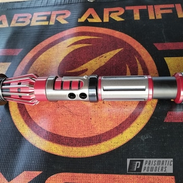 Powder Coated Custom Lightsaber In Psb-8060, Pss-1168 And Upb-4566