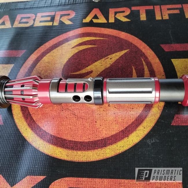 Powder Coating: Nostalgic Red PSB-8060,Stone Black PSS-1168,Aluminum,PASTEL BLACK UPB-4566,Lightsaber