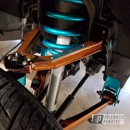 Powder Coating: Automotive,Suspension Parts,Transparent Copper PPS-5162,POLISHED ALUMINUM HSS-2345,Lift Kit,Two Tone,Suspension,Cortez Teal PPS-4477