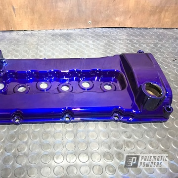 Powder Coated Vw Engine Cover In Ppb-4711