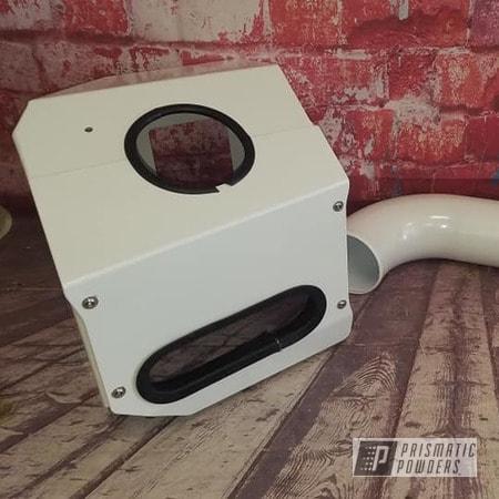 Powder Coating: Automotive,Turbo Parts,Pearlized White II PMB-4244,Turbo,Engine Parts,Automotive Parts