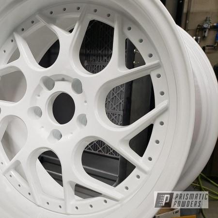 Powder Coating: Wheels,Rims,Polar White PSS-5053