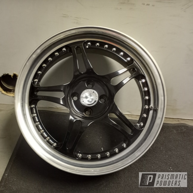 "Powder Coating: Wheels,Custom,Rims,GLOSS BLACK USS-2603,18"" Aluminum Rims,HRE Wheels,Aluminum Wheels"