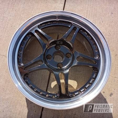 "Powder Coating: Wheels,Custom,Rims,GLOSS BLACK USS-2603,18"" Aluminum Rims,HRE Wheels,Aluminum Wheels"
