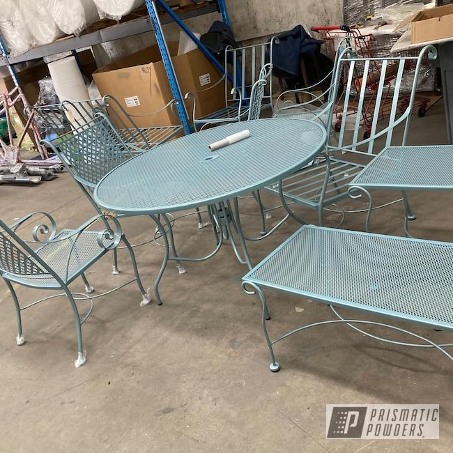 Powder Coating: Patio Chairs,Patio Table,Polar Sparkle PPB-5939,Patio Chair,Blue Nova PMB-2806,Outdoor Patio Furniture,patio,Furniture