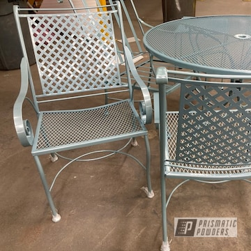 Powder Coated Patio Furniture In Ppb-5939 And Pmb-2806
