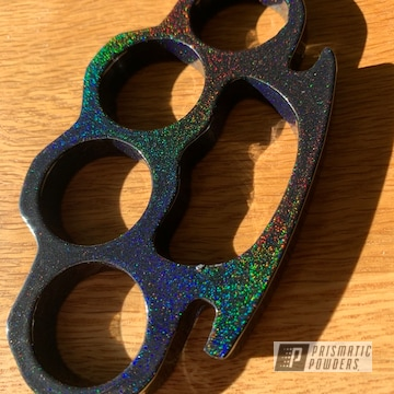 Powder Coated Brass Knuckles In Pps-2974 And Pmb-10367