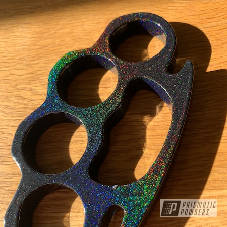 Powder Coating: Clear Vision PPS-2974,2 Stage Application,Art,Knuckles,Miscellaneous,Prismatic Universe PMB-10367