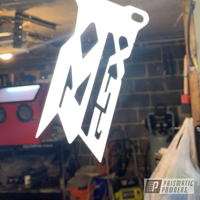 Powder Coating: Motorcycle Parts,GSXR,pegs,Suzuki,Motorcycles,Gloss White PSS-5690