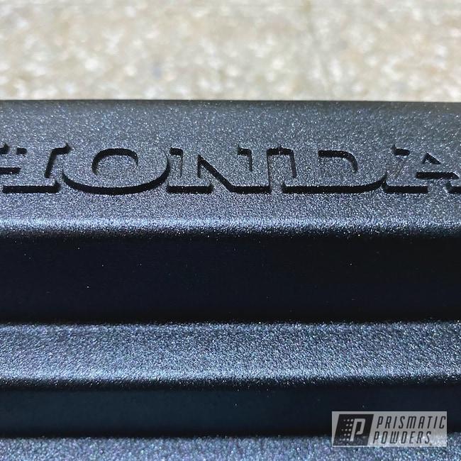 Powder Coating: Automotive,Honda K Series Valve Cover,Honda,Valve Cover,Charcoal Texture PTB-7109