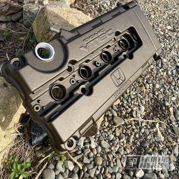 Powder Coated Honda Valve Cover In Pcb-4333