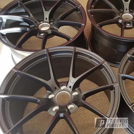 "Powder Coating: Wheels,Automotive,Forged Wheels,BLACK JACK USS-1522,20"" Wheels,Forged,Automotive Rims,Automotive Wheels"