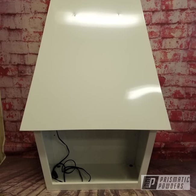 Powder Coating: Vintage Fireplace,Retro,Fireplace,Gloss White PSS-5690,Electric Fireplace