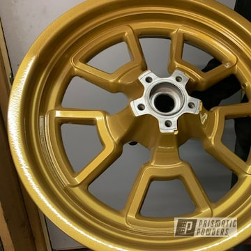 Powder Coated Motorcycle Rim In Pmb-6625 And Pps-2974