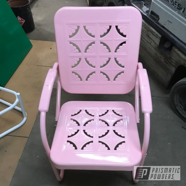 Powder Coated Patio Chair In Pss-6954