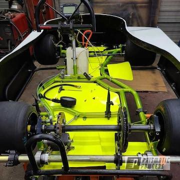 Powder Coated Kart Frame In Pps-4765