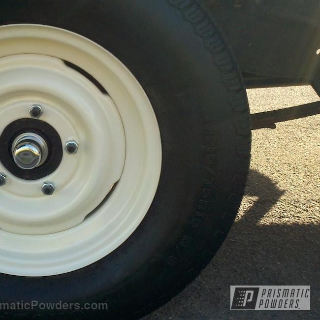 Powder Coating: Porcelain White PSS-2094,Wheels,White Wheels