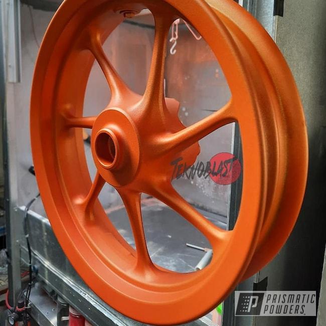 Powder Coating: Wheels,Motorcycle Rims,Yamaha,Rims,Accessories,Vespa,Motorcycles,Casper Clear PPS-4005,Illusion Orange PMS-4620