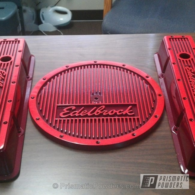 Powder Coating: Automotive,Hot Orange PSS-1627,Cherry Bliss PSS-4610