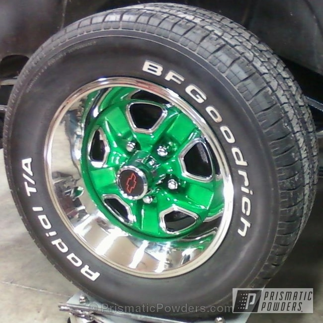 Super Chrome With Thompson Green Top Coat