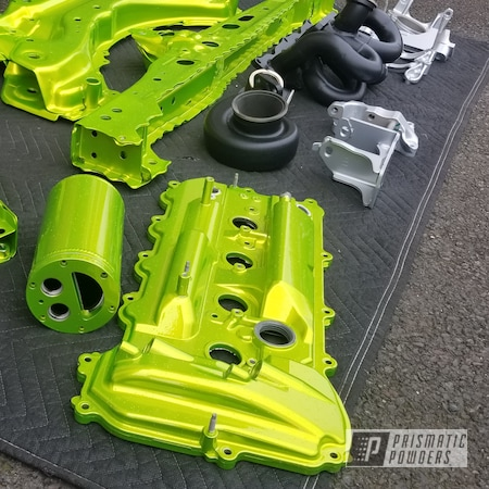 Powder Coating: Automotive,Clear Vision PPS-2974,Scion,Illusion Shocker PMB-10050,Automotive Parts