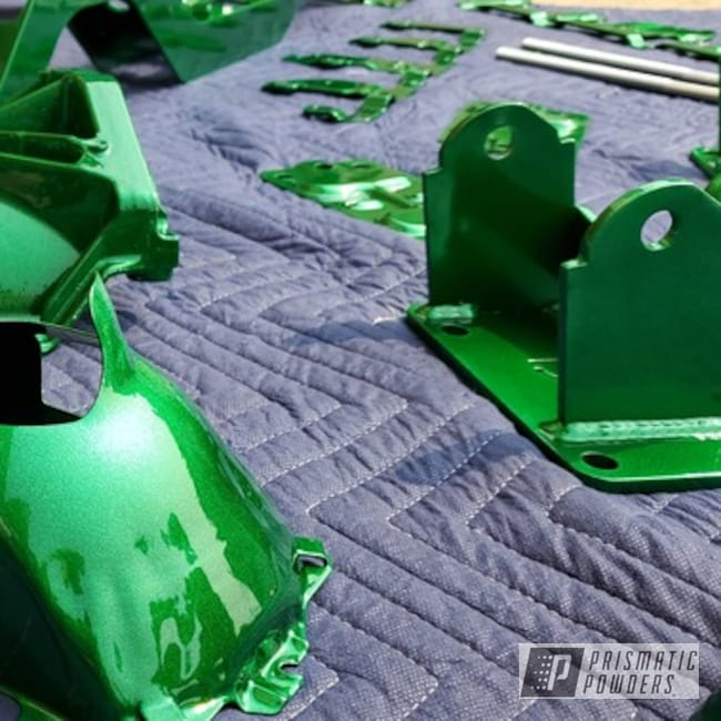 Powder Coating: Truck Parts,Automotive,Illusion Money PMB-6917,Clear Vision PPS-2974