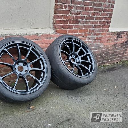 Powder Coating: Wheels,Automotive,volk racing wheels,Rims,Lazer Diamond PMB-4156