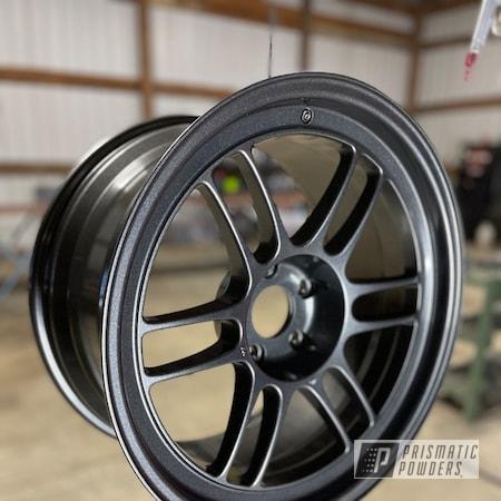 "Powder Coating: Wheels,Enkei Wheels,18"",Kingsport,enkei,Rims,Kingsport Grey PMB-5027,Tuner,Aluminum Wheels"