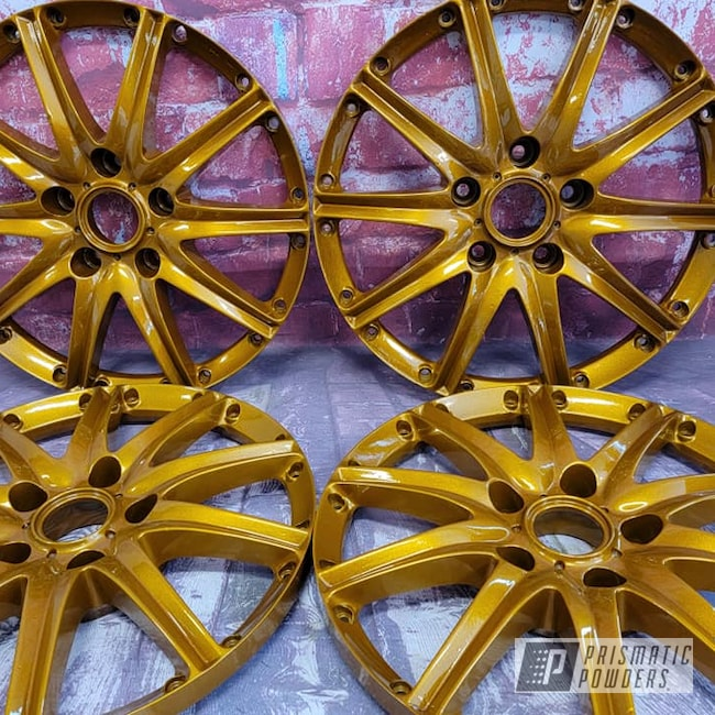 "Powder Coating: Wheels,Automotive,Clear Vision PPS-2974,Wheel Faces,3 Piece Rims,Illusion Dorado PMB-6921,Rims,15"" Aluminum Rims,Automotive Rims,Illusions,Automotive Wheels"