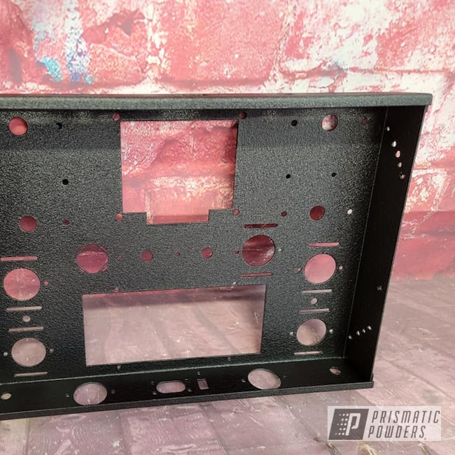 Powder Coating: Splatter Black PWS-4344,Audio,Electronics Housing,Audio Equipment,Electronics
