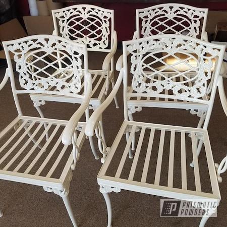 Powder Coating: Patio Furniture,Outdoor Furniture,Outdoor Decor,Patio Chair,Outdoor Patio Furniture,Almond White PSB-4766