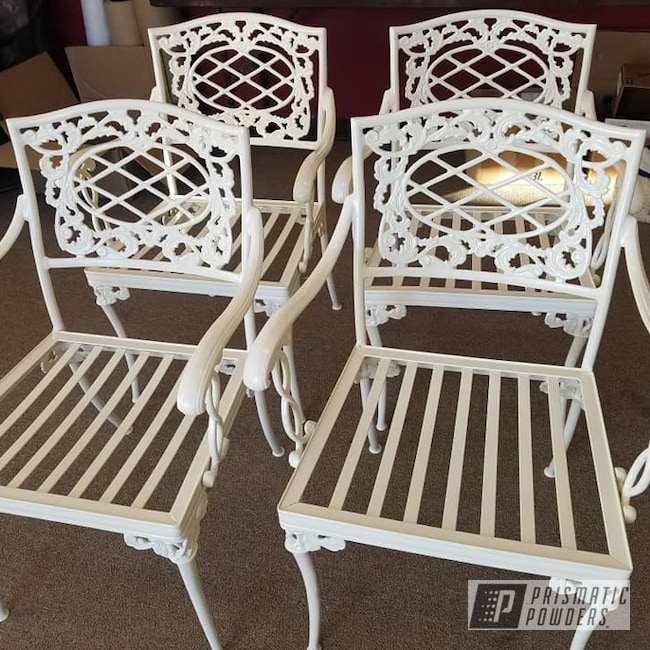 Powder Coating: Patio Furniture,Outdoor Furniture,Outdoor Decor,Patio Chair,Outdoor Patio Furniture,Almond White PSB-4766