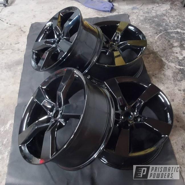 "Powder Coating: Wheels,20"" Wheels,Rims,GLOSS BLACK USS-2603,Chevy,Camaro,Aluminum Wheels"