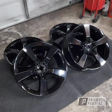 Powder Coated Camaro Wheels In Uss-2603