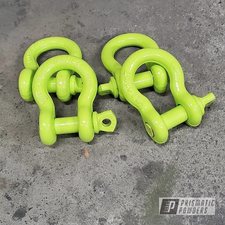 Powder Coating: Automotive,Chartreuse Sherbert PSS-7068,D-Rings,Accessories,Jeep,Jeep Accessories,Wrangler,Automotive Parts