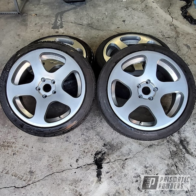 Powder Coated Eurovan Rotiform Wheels In Hss-2345