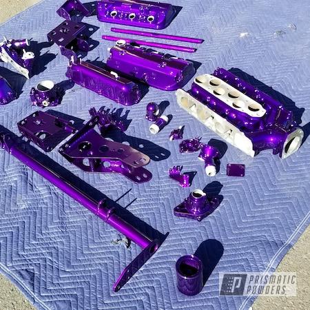 Powder Coating: Illusion Purple PSB-4629,Automotive,Clear Vision PPS-2974,Honda,Automotive Parts