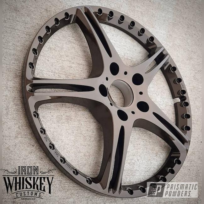Powder Coating: Wheels,Clear Vision PPS-2974,Rims,METALLIC BRONZE UMB-0336
