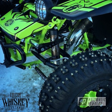 Powder Coated Banshee Atv Frame In Pss-7068 And Pss-0106