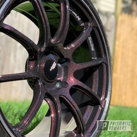 "Powder Coating: Wheels,19"" Wheels,American Sparkle PMB-4425,Rims,Aluminum Wheels"