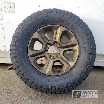 Powder Coated Wheels In Pmb-5860 And Pps-4005