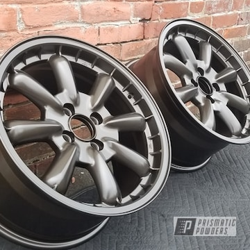Powder Coated Enkei Wheels In Pmb-2106 And Pps-1334