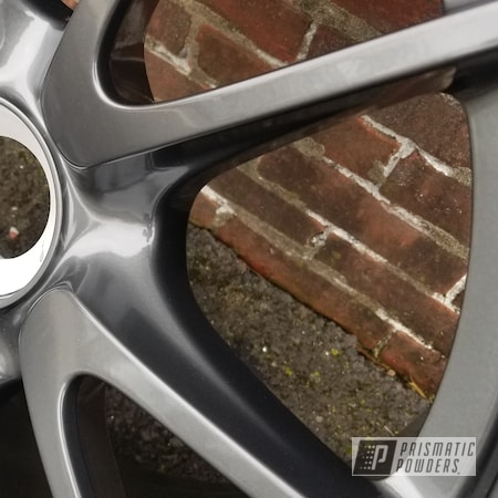 Powder Coating: Wheels,Porsche Wheels,Rims,Porsche,Automotive Rims,STEALTH CHARCOAL PMB-6547,Automotive Wheels