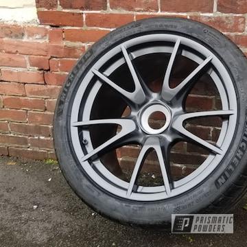 Powder Coated Porsche Wheels In Pmb-6547