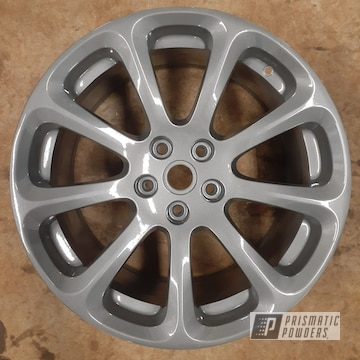 Powder Coated Maserati Wheel In Pmb-5274 And Pps-2974
