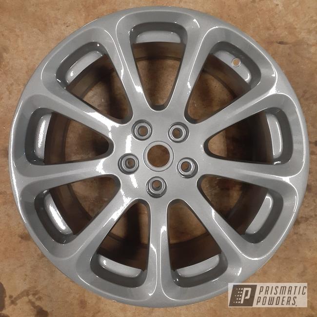 "Powder Coating: Wheels,Clear Vision PPS-2974,18"",Rims,18"" Aluminum Rims,Maserati,Victory Silver PMB-5274,Aluminum Wheels"
