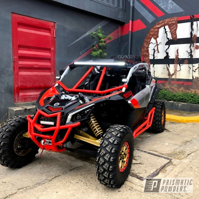 Powder Coated Can-am Frame In Psb-6401